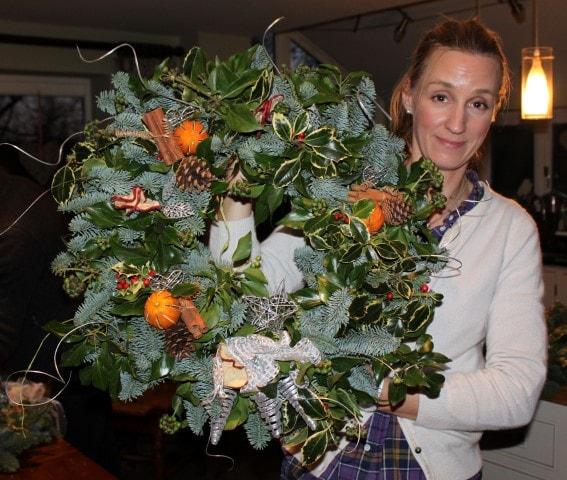 Christmas Wreaths (evening workshop)-3196