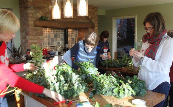Christmas Wreaths (evening workshop)-3194