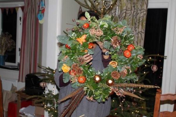 Christmas Wreaths (evening workshop)-3191